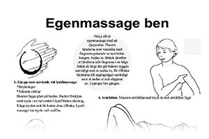 lymfmassage på sig själv