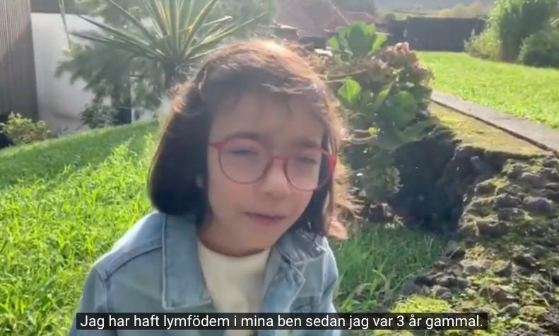 FILM – Lymfödem ur ett barns perspektiv